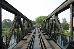 Bridge over the River Kwai. By Ashley Scott Kelly, 2015.