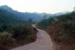 Dawei-Phunamron Road Link access road. By Ashley Scott Kelly, 2017.