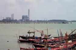 Map Ta Phut Industrial Estate on Thailand's Eastern Seaboard. By Ashley Scott Kelly, 2017.