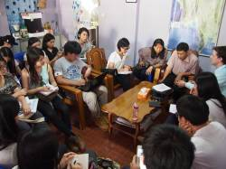 Meeting with Wildlife Conservation Society (WCS). By WONG Ting Fung, 2015.