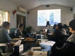 Meeting with Worldwide Fund for Nature, WWF-Nepal. By Ashley Scott Kelly, 2016.