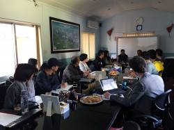 Meeting with Worldwide Fund for Nature, WWF-Nepal. By ZHENG Zhicheng, 2016.