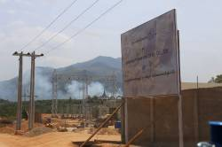 Total Corporate Social Responsibility (CSR) Gas plant near Michaunglaung. By Dorothy Tang, 2015.