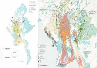 A Human-ecological reaction to WWF's use of ecosystem services prediction for infrastructure planning in Myanmar. By WEI Gongqi William, 2021.