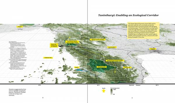 WWF, A Better Road to Dawei: Overview of transboundary corridor